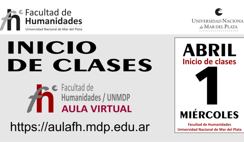 INICIO DE CLASES 2020